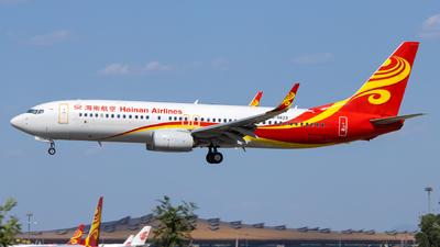 B-5623 - Boeing 737-84P - Hainan Airlines