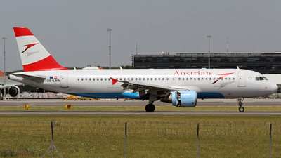 OE-LBW - Airbus A320-214 - Austrian Airlines