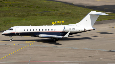 9H-ASB - Bombardier BD-700-1A11 Global 5000 - TAG Aviation