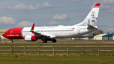 LN-DYU - Boeing 737-8JP - Norwegian