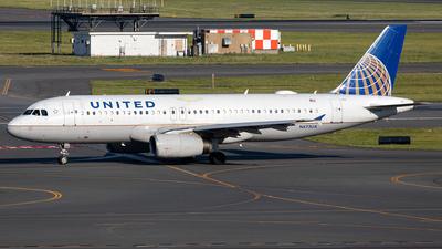 N473UA - Airbus A320-232 - United Airlines