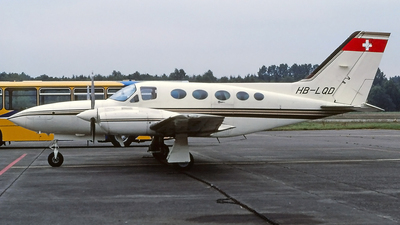HB-LQD - Cessna 421C Golden Eagle - Private