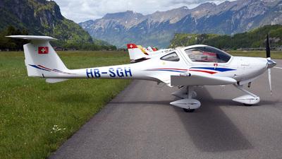 HB-SGH - Diamond DA-20-C1 Eclipse - Fliegerschule Birrfeld