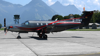 D-FPAN - Pilatus PC-12/47E - Private