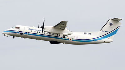 JA722A - Bombardier Dash 8-Q315 - Japan - Coast Guard