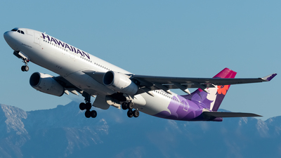 A picture of N373HA - Airbus A330243 - Hawaiian Airlines - © Ricky Teteris