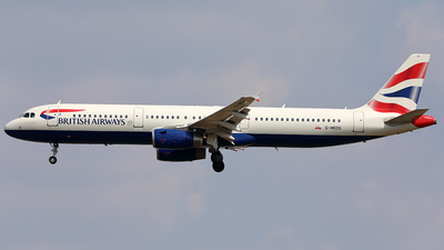 G-MEDG - Airbus A321-231 - British Airways