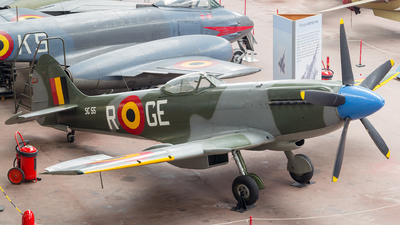 SG-55 - Supermarine Spitfire FR.14C - Belgium - Air Force