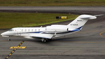 N750NA - Cessna 750 Citation X - Private