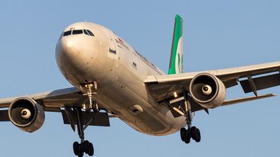 EP-MMO - Airbus A300B4-622R - Mahan Air