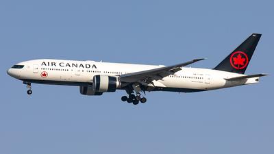 C-FNND - Boeing 777-233LR - Air Canada