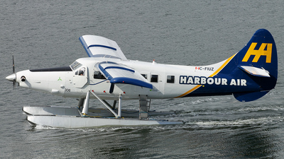C-FIUZ - De Havilland Canada DHC-3 Otter - Harbour Air