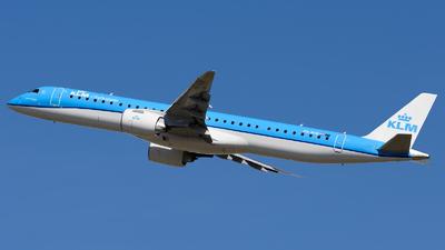 A picture of PHNXB - Embraer E195E2 - KLM - © Igor Piotrowicz