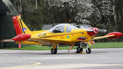ST-26 - SIAI-Marchetti SF260M+ - Belgium - Air Force