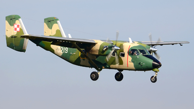 0219 - PZL-Mielec M-28B/PT Skytruck - Poland - Air Force