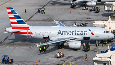 N177XF - Airbus A319-114 - American Airlines
