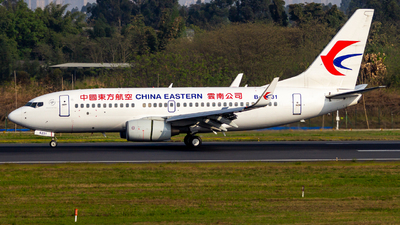 A picture of B5231 - Boeing 73779P - China Eastern Airlines - © SINO6702
