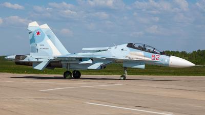 RF-81740 - Sukhoi Su-30SM - Russia - Air Force