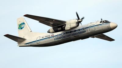 RA-46643 - Antonov An-24RV - Khabarovsk Avia