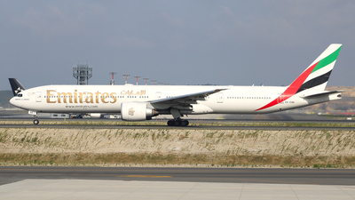 A picture of A6END - Boeing 77731H(ER) - Emirates - © Harun Arda