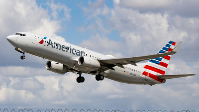 A picture of N909NN - Boeing 737823 - American Airlines - © soflo_spotter