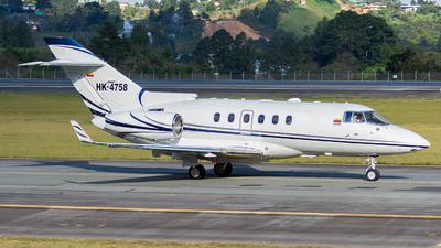 HK-4758 - Hawker Beechcraft 900XP - Helistar Colombia