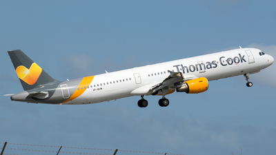 VP-BUM - Airbus A321-211 - Thomas Cook Airlines