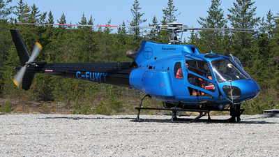 C-FUWY - Aérospatiale AS 350B2 Ecureuil - Helicoptères Panorama