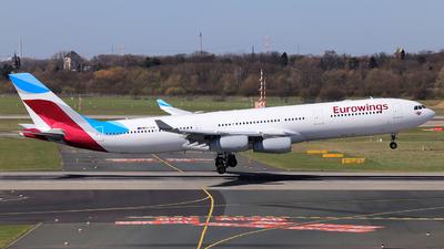 OO-SCW - Airbus A340-313 - Eurowings