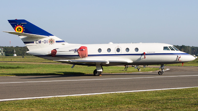 CM-01 - Dassault Falcon 20E - Belgium - Air Force