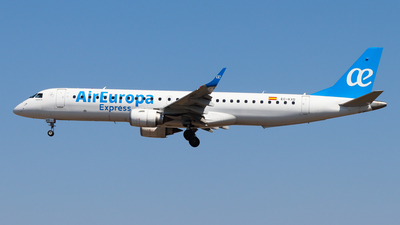 A picture of ECKXD - Embraer E195LR - Air Europa - © Luciano Silva