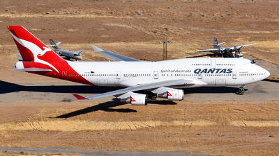 A picture of VHOEI - Boeing 747438(ER) - [32913] - © Rocky Wang