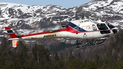 LN-OPN - Aérospatiale AS 350B3 Ecureuil - Airlift