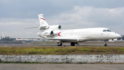 N458FJ - Dassault Falcon 8X - Private