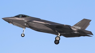 18-006 - Lockheed Martin F-35A Freedom Knight - South Korea - Air Force