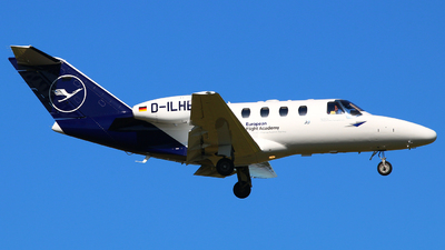 D-ILHE - Cessna 525 CitationJet 1 - European Flight Academy