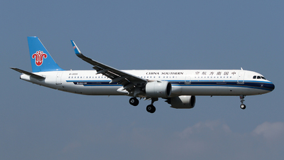 A picture of B303X - Airbus A321271N - China Southern Airlines - © ceci wong
