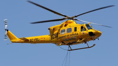 EC-FEL - Agusta-Bell AB-412SP - Babcock MCS Spain
