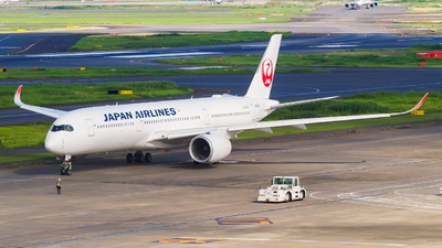 A picture of JA08XJ - Airbus A350941 - Japan Airlines - © Haneda Spotter