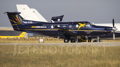 HB-FVD - Pilatus PC-12/47 - Air Corviglia