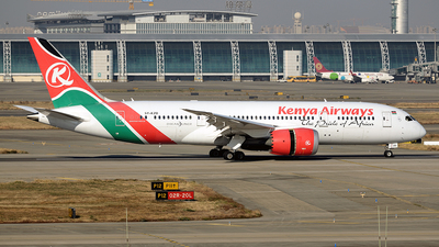5Y-KZD - Boeing 787-8 Dreamliner - Kenya Airways