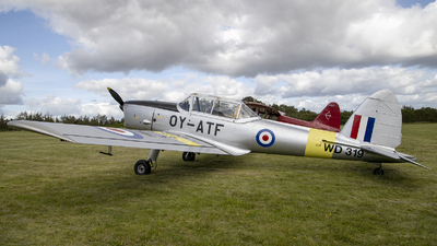 OY-ATF - De Havilland Canada DHC-1 Chipmunk - Private