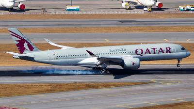 A picture of A7ALG - Airbus A350941 - Qatar Airways - © anson_hhc