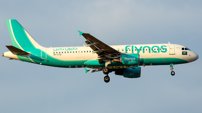 VP-CYD - Airbus A320-214 - Flynas