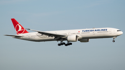 A picture of TCLJB - Boeing 7773F2(ER) - Turkish Airlines - © Frankie A Said