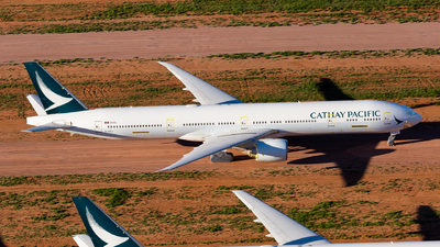 B-KPJ - Boeing 777-367ER - Cathay Pacific Airways