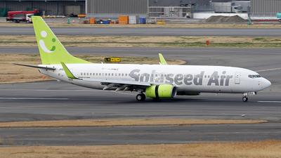 JA809X - Boeing 737-86N - Solaseed Air