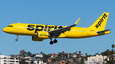 A picture of N901NK - Airbus A320271N - Spirit Airlines - © Brandon Ravelo