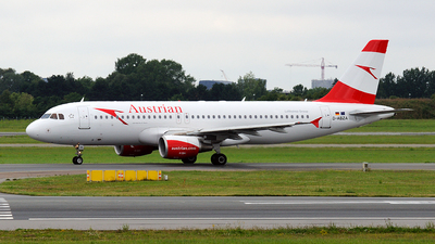 D-ABZA - Airbus A320-216 - Austrian Airlines (Air Berlin)