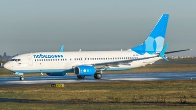 VP-BPJ - Boeing 737-8LJ - Pobeda